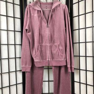 S) New York & Company Track Suit